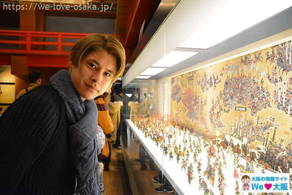 大阪城展示