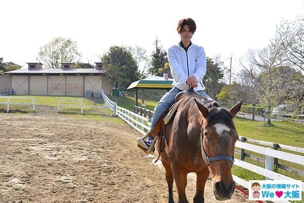 ハーベストの丘乗馬