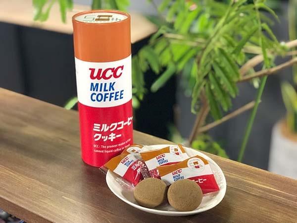 UCCミルクコーヒークッキー