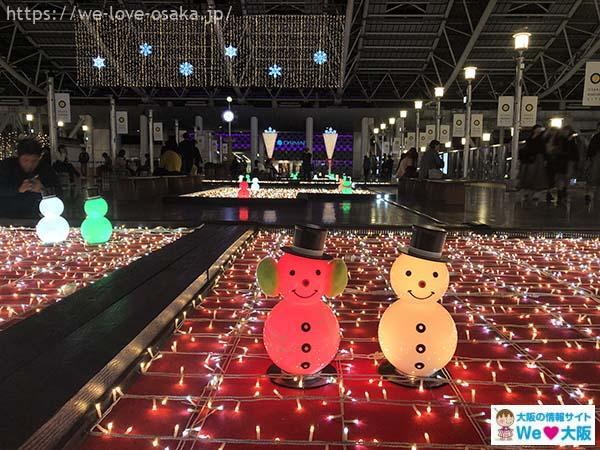 大阪駅イルミネーション