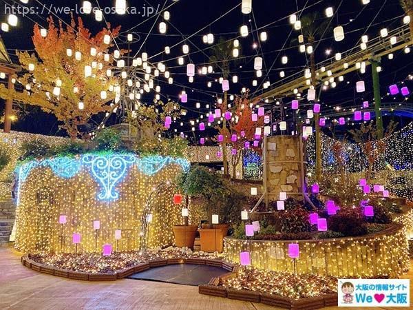 パー イルミ ひら ひらパー180万球「光の遊園地」!大阪の幻想的な人気イルミ