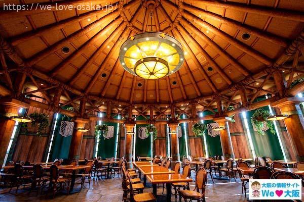 進撃の巨人調査兵団の食堂