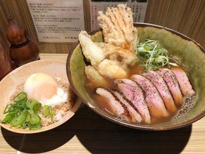 本町製麺所料理