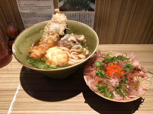 本町製麺所料理3