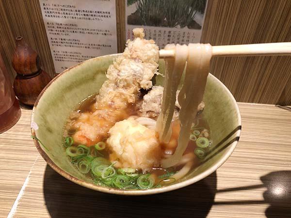 本町製麺所料理2