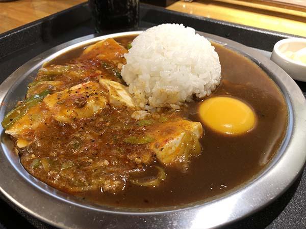 麻婆咖喱料理