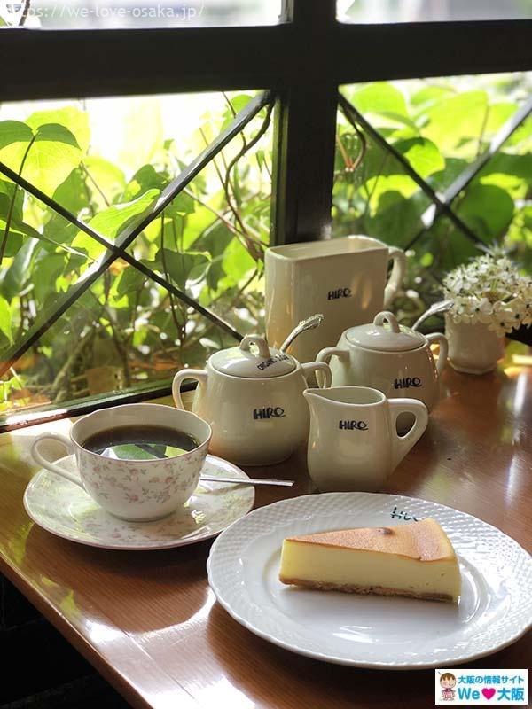 ヒロコーヒー本店ケーキ