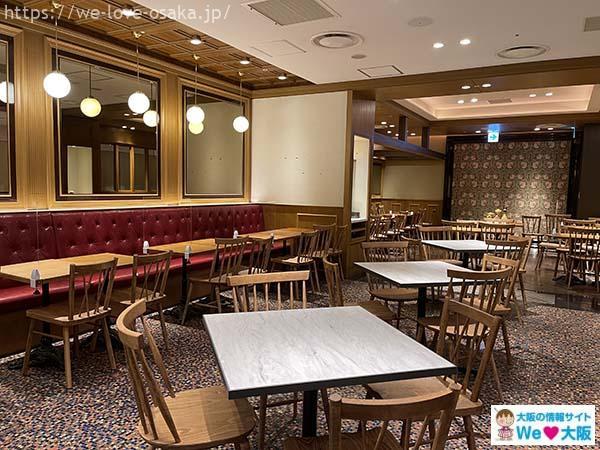 喫茶ラルゴ店内