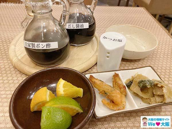 ノモカ橙ポン酢製作所料理