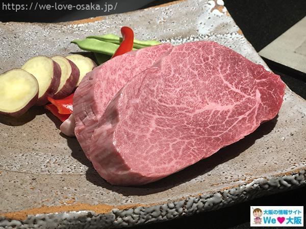 コンラッド鉄板焼き料理3