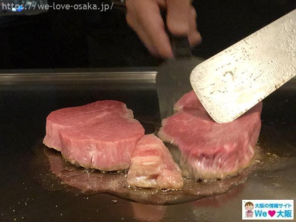 コンラッド鉄板焼き料理4