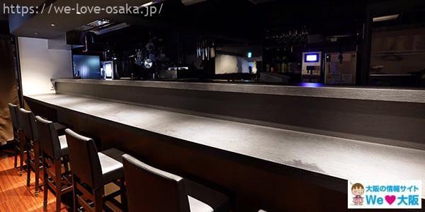 北新地桔梗店内