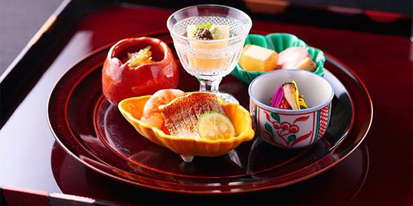 太閤園淀川邸料理