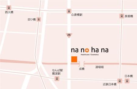 nanohanaマップ
