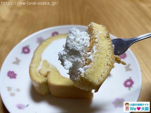 ナッシュロールケーキ