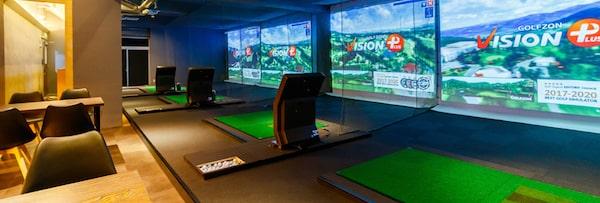 大阪シュミレーションゴルフスタジオブライト