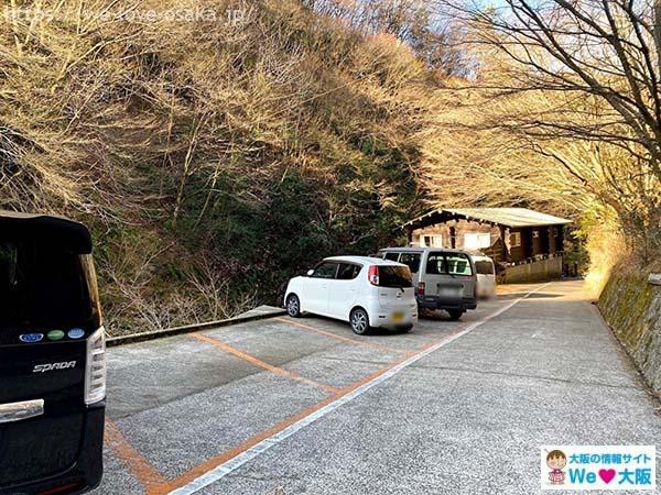 千早川マス釣り場駐車場
