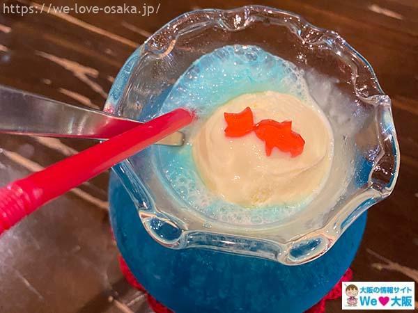 金魚カフェクリームソーダ01